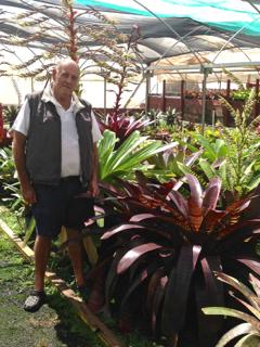 Bob Lanarch & Giant Snake Skin Vriesea