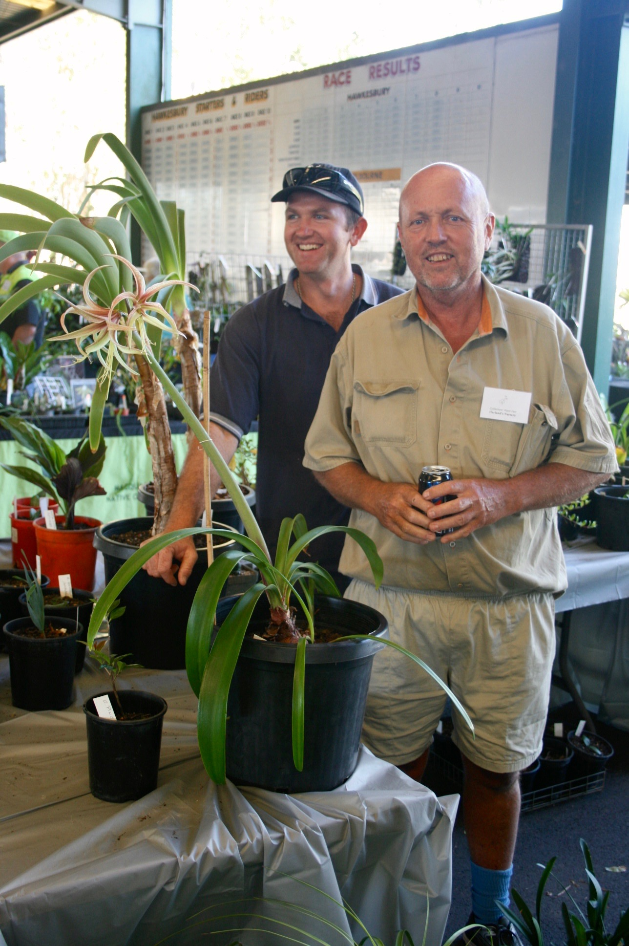 Clay & Charles at Collectors Plant Fair