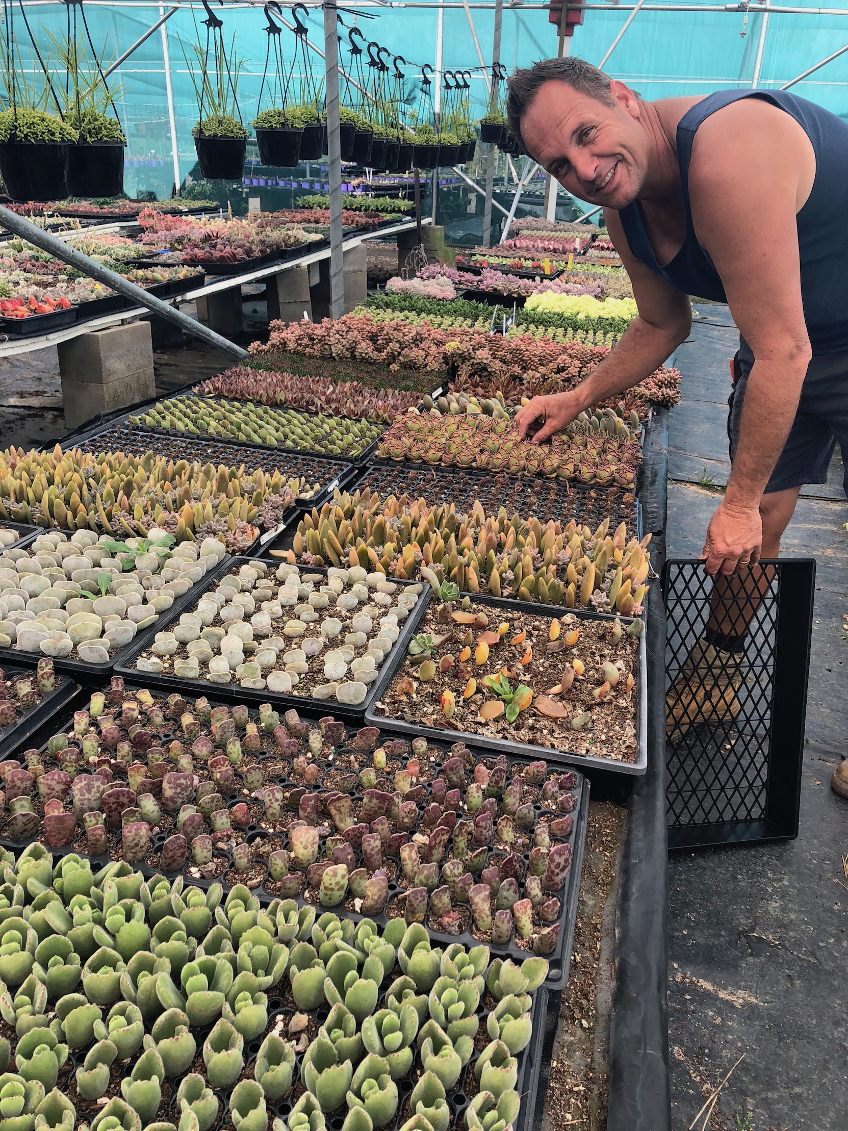 Troy Southwood at Imperial Wholesale with many new spring babies