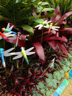 Ceramic dragon flies